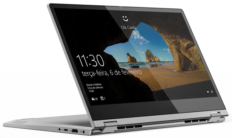 IdeaPad C430 tem versões com SSD e é compatível com caneta digital da Lenovo — Foto: Divulgação/Lenovo