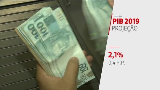 FMI reduz previsão de crescimento da economia brasileira