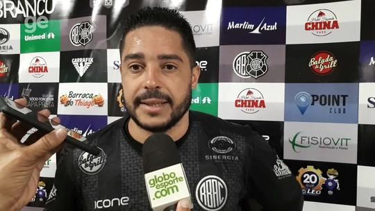 Após os dois gols na estreia pelo Rio Branco-ES, Robert já sonha com a artilharia da Copa ES