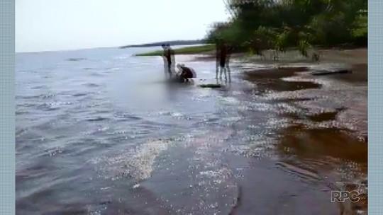 Homem é encontrado morto em lago, em Itaipulândia