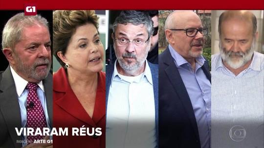 G1 em 1 Minuto: Lula, Dilma e Palocci viram réus por suspeita de organização criminosa