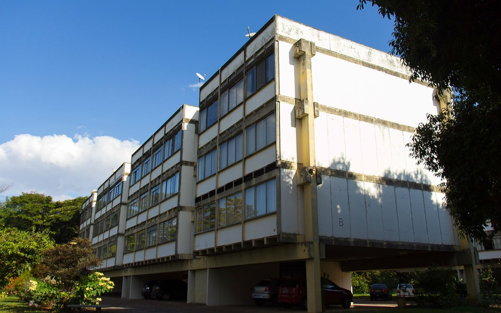 Bloco B do complexo residencial