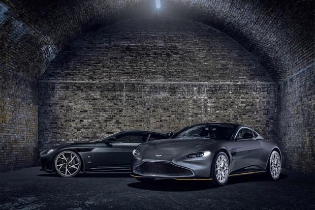 As Versões exclusivas do DBS Superleggera e Vantage lado a lado (Foto: Divulgação)