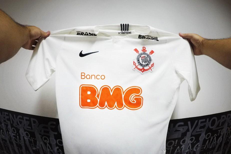 Banco BMG é o novo patrocinador máster do Corinthians; contrato é de dois anos