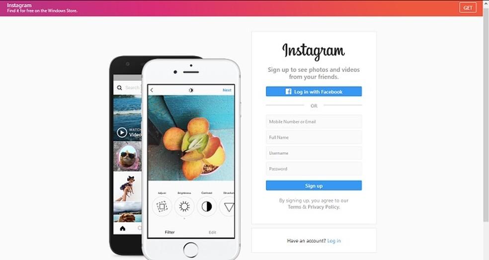 Instagram é considerado uma versão moderna do Fotolog (Foto: Reprodução/Bárbara Fernandes)