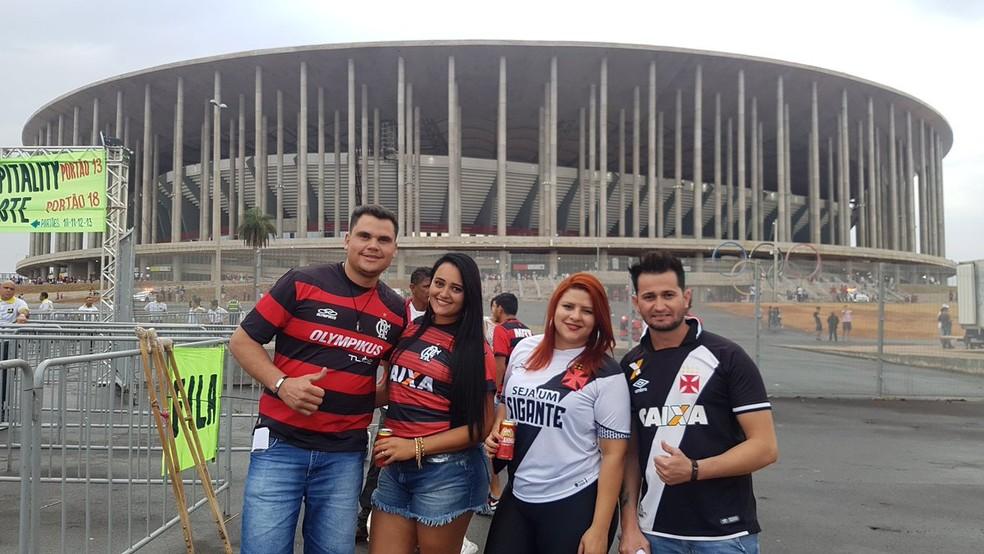 Vasco e Flamengo se enfrentam neste sábado, em Brasília — Foto: Felipe Schmidt / GloboEsporte.com