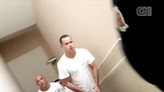 Nardoni, Cravinhos e mais presos 'famosos' deixam juntos prisão para audiência;  FOTO e VÍDEO