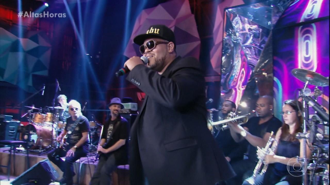 Babu relembra quando cantou Tim Maia no 'Altas Horas'