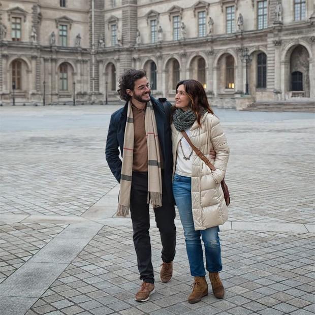 Fátima Bernardes e Tulio Gadêlha (Foto: Reprodução / Instagram)