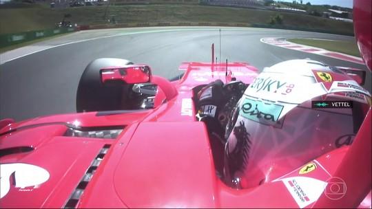Com Massa ausente, Vettel marca 48ª pole em dobradinha da Ferrari na Hungria