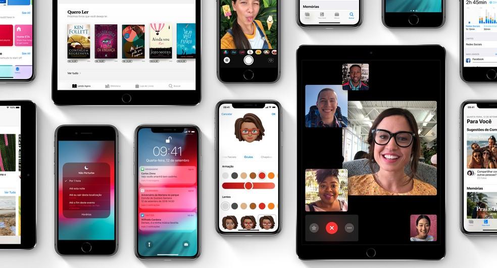 iOS 12.4 permite transferir conteúdo de iPhone antigo para o novo sem uso de cabos ou iCloud — Foto: Divulgação/Apple