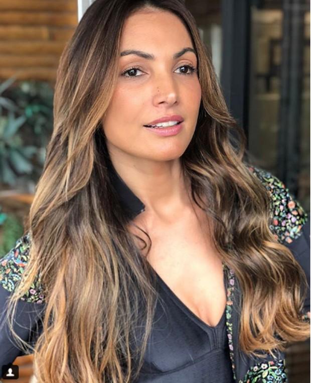 Patricia Poeta muda o cabelo (Foto: Reprodução/Instagram)