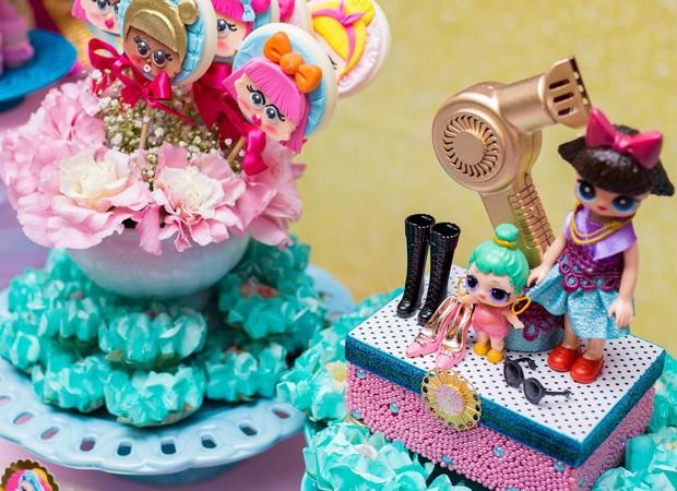 Detalhes da decoração do aniversário de Júlia Menotti (Foto: Alice Duque)