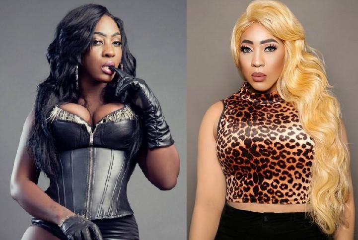 A cantora jamaicana Spice antes e depois de seu branqueamento (Foto: Instagram)