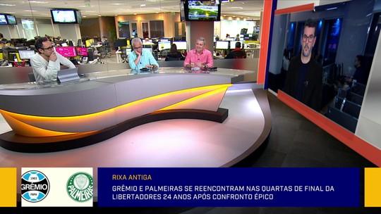 """""""Redação"""" debate se passagem de Felipão é mais marcante por Grêmio ou Palmeiras"""