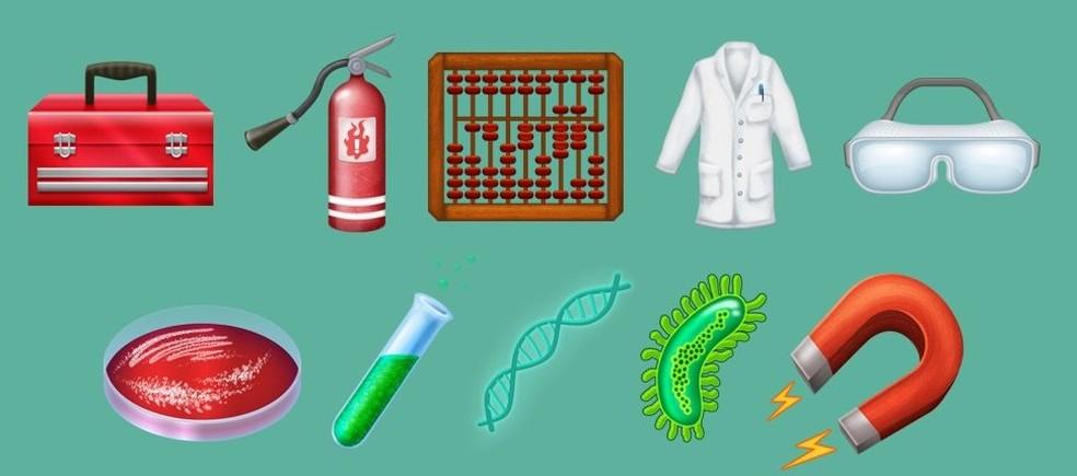 Uma parte voltada pra ciência também foi criada (Foto: Reprodução/Emojipedia)