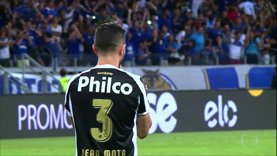 Santos é eliminado pelo Cruzeiro nos pênaltis na Copa do Brasil