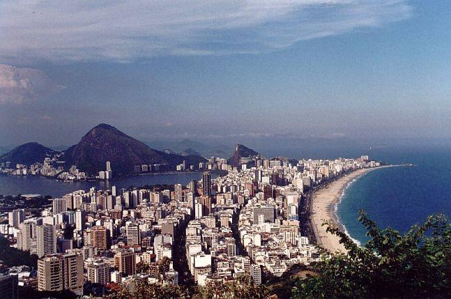 Vista do bairro a partir do morro Dois Irmãos (Foto: Eurico Zimbres)