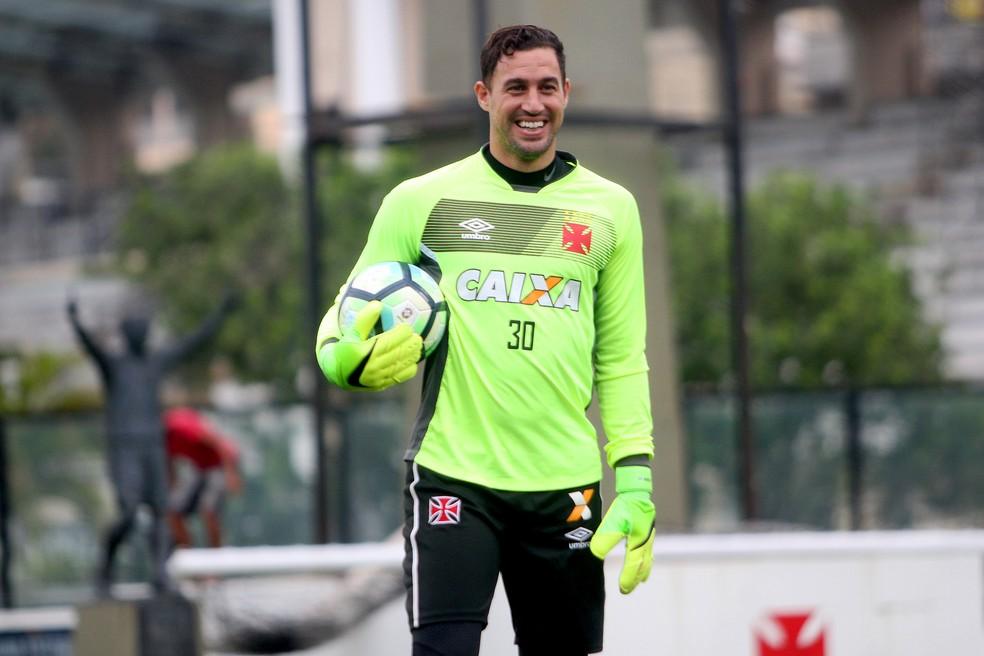 Martín Silva acredita em evolução do Vasco no segundo turno (Foto: Paulo Fernandes / Vasco)