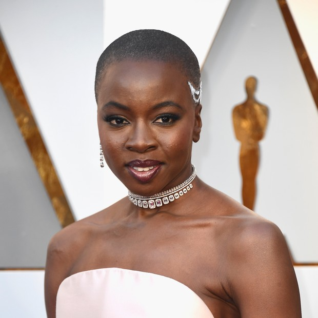 Danai Gurira usa choker Messika (Foto: Getty Images)