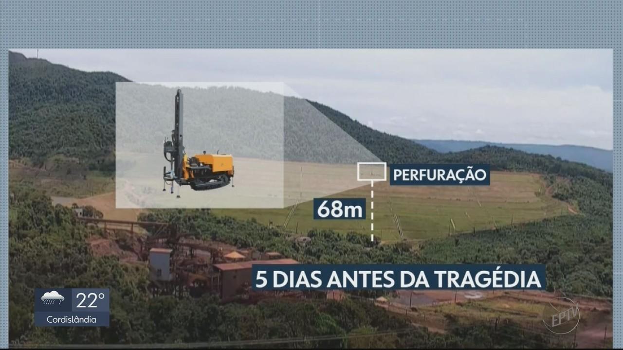 Laudo da PF aponta que perfurações causaram rompimento da barragem em Brumadinho