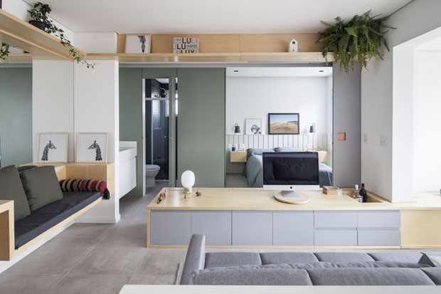 Móveis planejados: 20 projetos lindos - Casa Vogue | Ambientes
