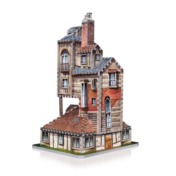 Quebra-cabeça 3D de Harry Potter recria diversos cenários dos filmes (Foto: Divulgação)