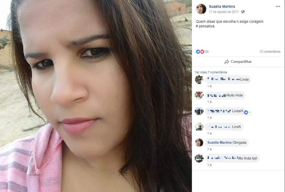 Suzélia Carmo morreu durante acidente na BR-340, no sudoeste da Bahia — Foto: Reprodução/Redes Sociais