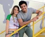 Rodrigo Simas e Juliana Paiva foram Bruno e Fatinha em 'Malhação' | Globo