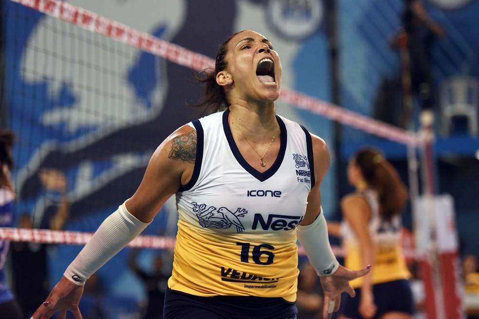 Tandara comanda a vitória do Osasco Osasco (Foto: João Pires / Fotojump)