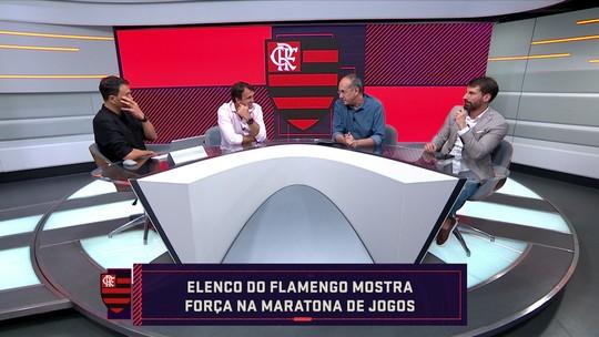 """""""Titulares do Flamengo estão bem acima dos reservas"""", diz Pedrinho"""