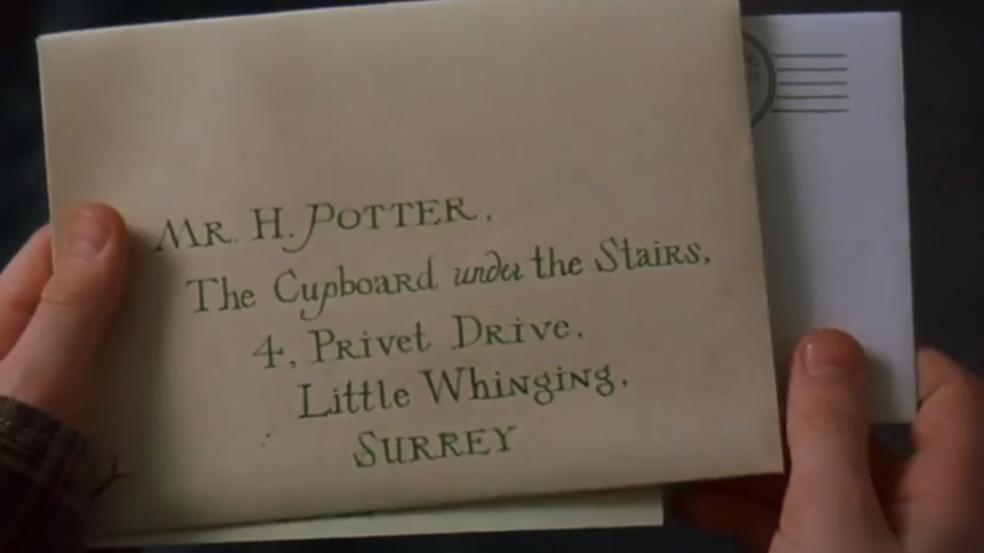 Cartas vêm sendo deixadas de lado (Foto: Reprodução/Filmes do YouTube (Harry Potter e a Pedra Filosofal/Warner Bros.))