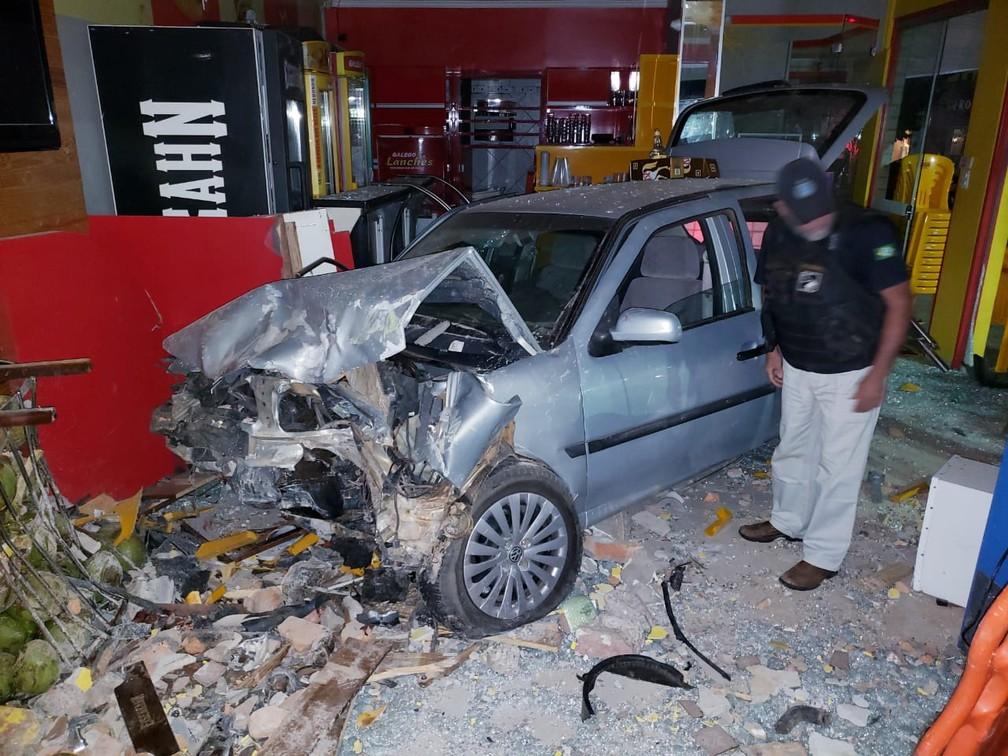 Acidente aconteceu em Barreiras — Foto: Ivonaldo Braga/Blogbraga