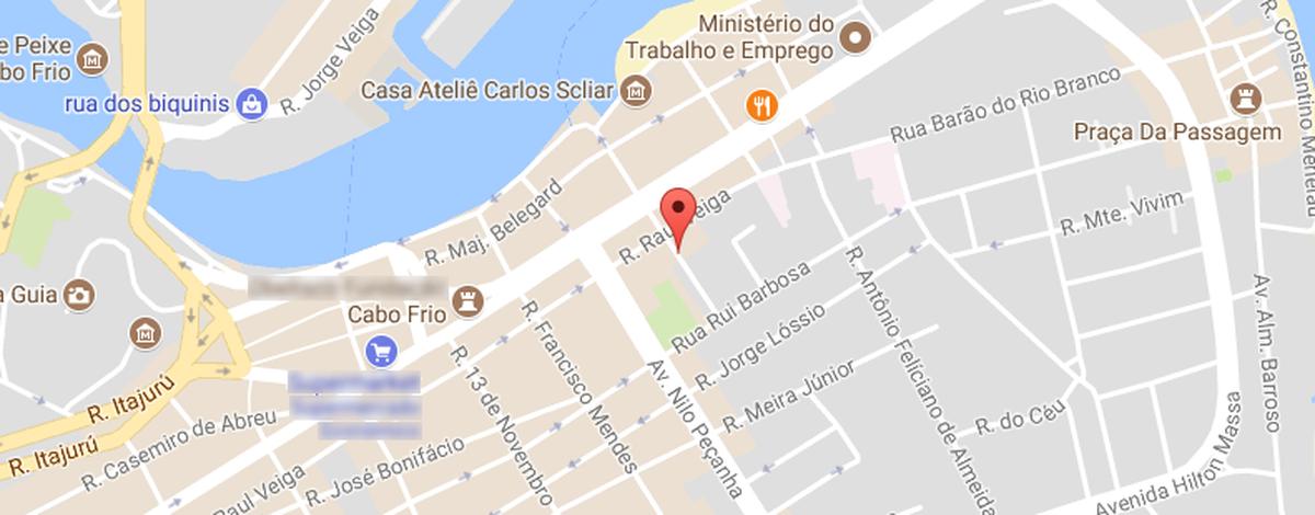 Trânsito na Rua Miguel Couto, em Cabo Frio, RJ, passa por mudança a partir desta segunda