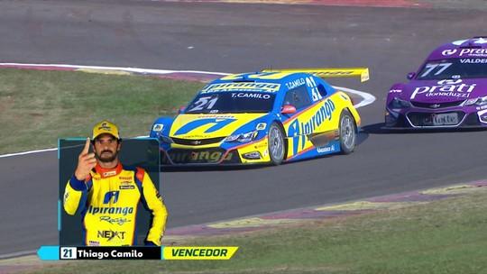 Em etapa marcada pela estratégia dos pneus, Camilo e Ricardo Maurício vencem em Londrina