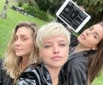 Amora Mautner, Agatha Moreira e Camila Queiroz | Arquivo pessoal