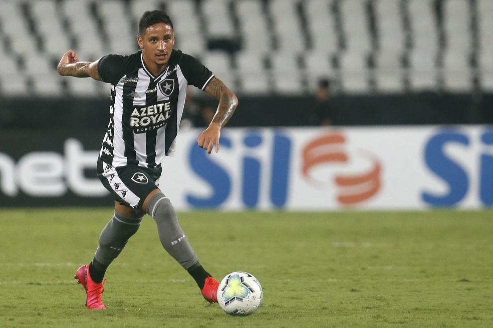 Luiz Otávio deixou o Botafogo e vai  defender o Carcará pela primeira vez — Foto: Vitor Silva/Botafogo