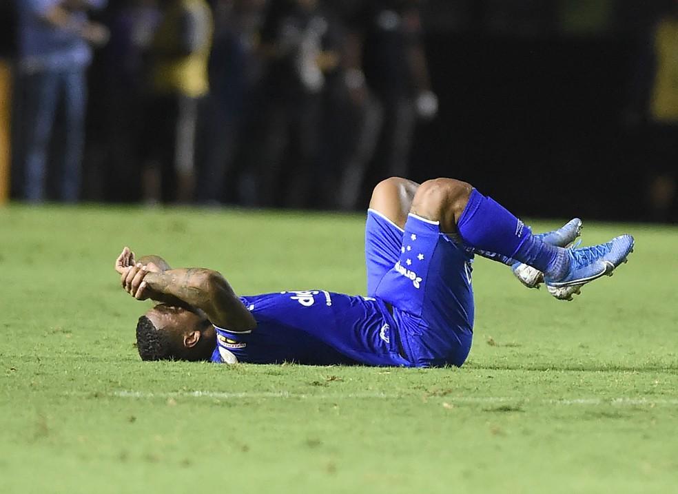 David lamenta derrota do Cruzeiro em São Januário — Foto: André Durão