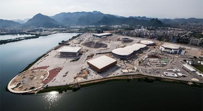 Parque Olímpico tem 92% das obras concluídas (Foto: Renato Sette Câmara / Prefeitura do Rio)