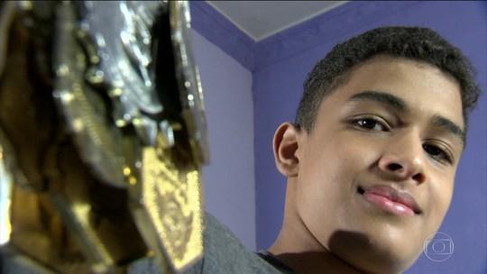 O menino dos olhos do jiu-jítsu: Ramon Alves e a batalha contra o ceratocone