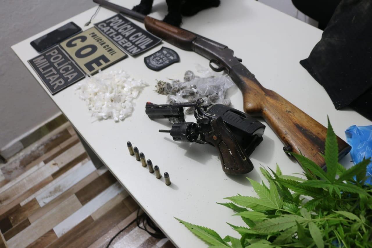 Quatro suspeitos de corrupção de menores, tráfico e homicídios são presos em operação na Bahia