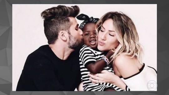 Bruno Gagliasso e Giovanna Ewbank vão prestar queixa de racismo por ofensas contra a filha