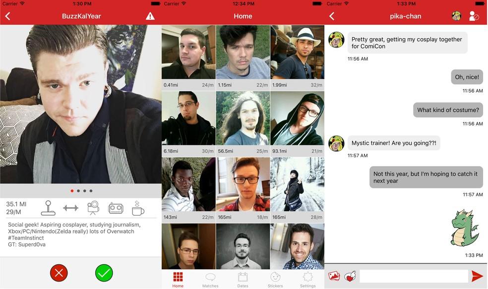 App de relacionamento Cuddli tenta ser 'Tinder Geek