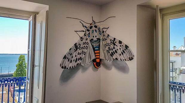 Insetos parecem que vão voar das paredes (Foto: Divulgação)