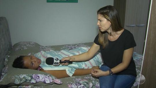 'Só tenho que agradecer', diz mãe de enfermeira que sobreviveu a acidente com 4 mortos na Bahia