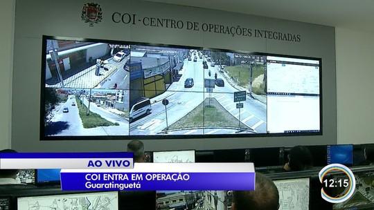 Com atraso, Guaratinguetá inaugura central do COI