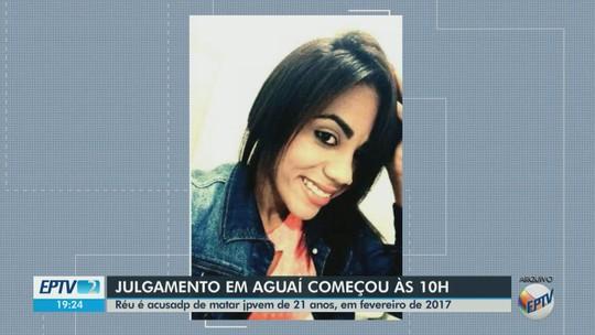 Homem acusado de assassinar jovem em Aguaí é condenado a 19 anos e 6 meses de prisão