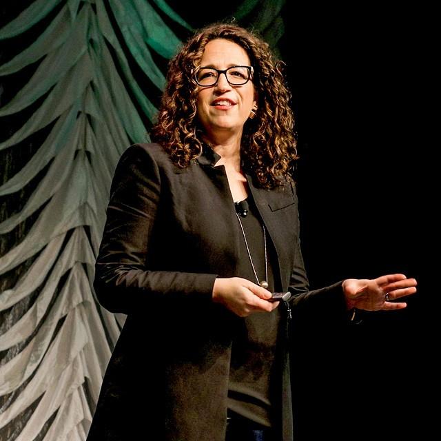 Amy Webb - 45 anos, futurista, escritora e fundadora e CEO do Future Today Institute (Foto: Getty Images)