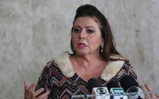 Suely Campos, governadora de Roraima (Foto: Antonio Cruz/Agência Brasil)
