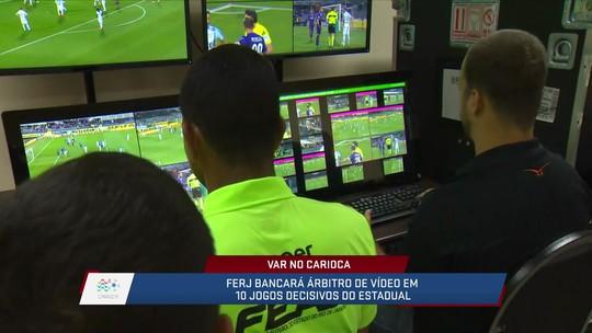 Ferj inicia treinamento do VAR para o Campeonato Carioca